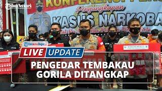 LIVE UPDATE: Pengedar Narkoba Ditangkap Polresta Bogor Kota, Barang Bukti 1,2 Kg Tembakau Gorila