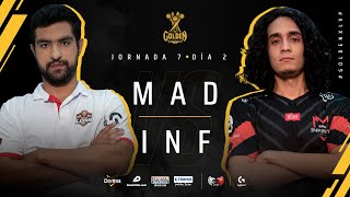 MAD Lions E.C. Colombia VS Infinity Esports Colombia | Jornada 14 | Golden League Clausura