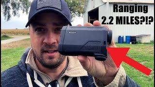 2.2 mile Range Finder? Nikon Black RangeX 4K test!