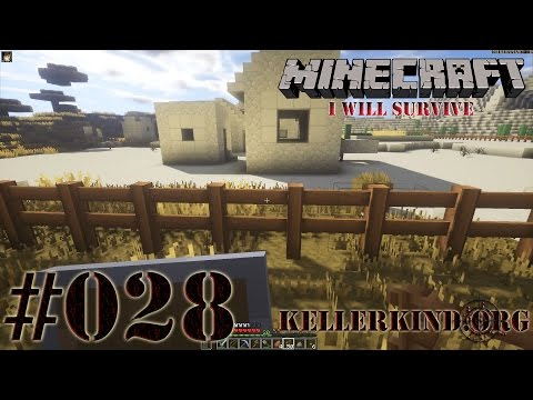 Minecraft: I will survive #028 - Sicherungsmaßnahmen ★ Let's Play Minecraft [HD|60FPS]