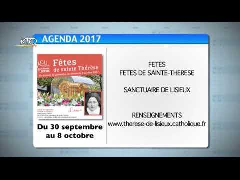 Agenda du 8 septembre 2017