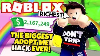 Roblox How To Get Free Money In Adopt Me Adopt Me Money Hack Makes Me The Richest Ever New Adopt Me Gingerbread House Update Roblox Minecraftvideos Tv