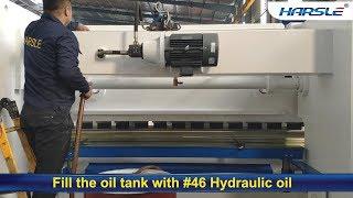 Preparing Steps Before Operating Hydraulic Press Brake, How to start bending machine