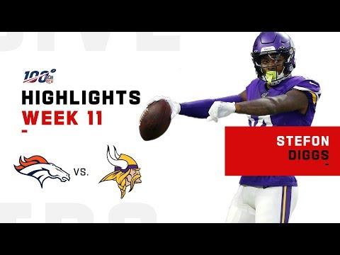 Stefon Diggs Tames Broncos w/ 121 Yds & 1 TD   NFL 2019 Highlights