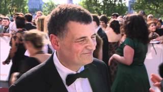 Steven Moffat - Red Carpet (2012 BAFTA TV)