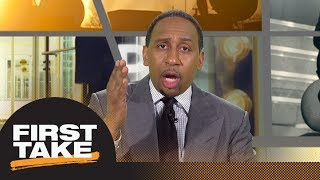 Stephen A. calls John Elway comments on Colin Kaepernick 'smug' | First Take | ESPN - Video Youtube