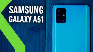 SAMSUNG GALAXY A51 REVIEW | Aspirante a SUPERVENTAS 2020 en la GAMA MEDIA