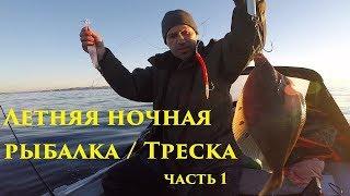 Летняя ночная рыбалка / Треска / часть 1 / Summer night fishing / Cod / part 1HD 2019