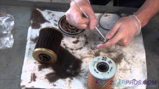 Oil Change and Filter Replacement BMW 525i