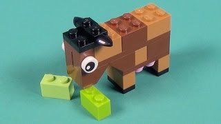 Lego Cow Building Instructions - Lego Classic 10692 How To