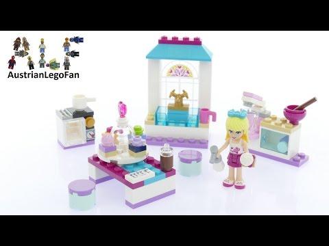 Vidéo LEGO Friends 41308 : Les gâteaux de l'amitié de Stéphanie