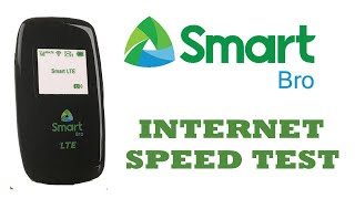 Smart Pocket WiFi (FX PR3L) Internet Speed Test 2017