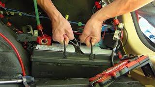 Comment remplacer la batterie sur BMW série 3 E90