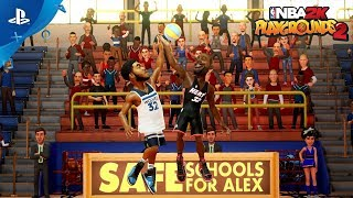NBA 2K Playgrounds 2  - Safe Schools For Alex | PS4
