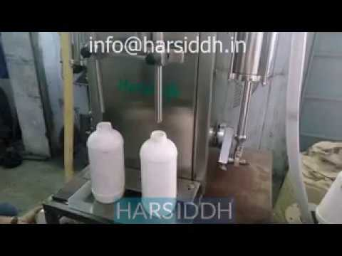 Semi Liquid Bottle Filling Machine