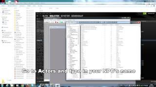 Skyrim Creation kit (Custom NPC Grey Face mismatch texture bug FIX)