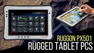 RuggON PX501 Rugged Tablet PCs 平板電腦產品影片