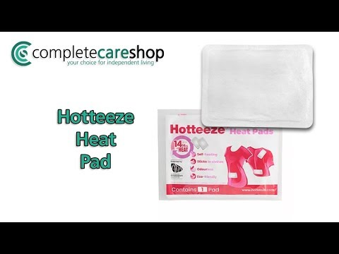 Disposable Heat Pad Demo