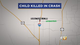 10-Year-Old Girl Dies After Ejected In Fort Worth Crash