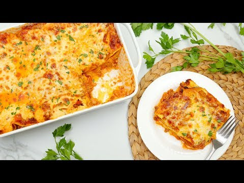 Homemade Lasagna Recipe | My Pregnancy Craving