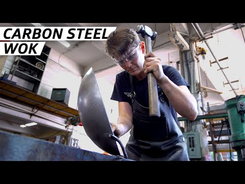 How Carbon Steel Woks are Forged by Hand — Handmade