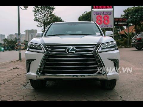 [XEHAY.VN] Chi tiết Lexus LX570 2016 tại Hà Nội