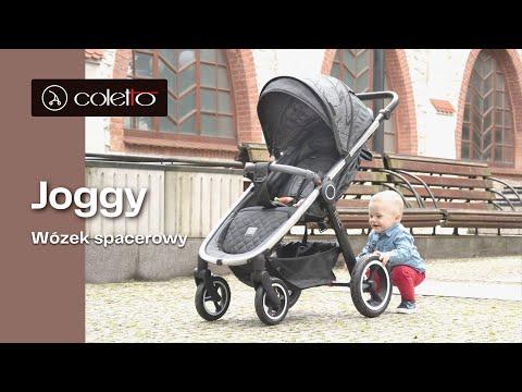 Коляска Coletto Joggy (черный)