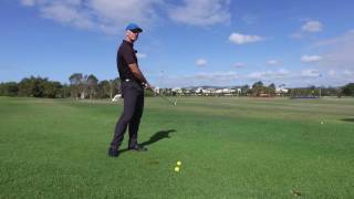 Quick Tip of the Day - How to take a divot with Grant Williams