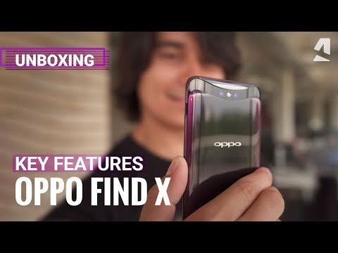 OPPO Find X unboxing and key features