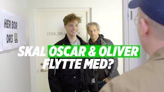 Skal Oliver og Oscar flytte med?   DR3 flytter