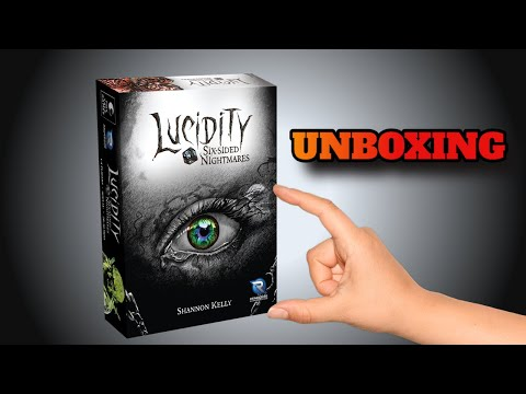 Lucky Roll Reviews - unboxing 'Lucidity Six Sided Nightmares'