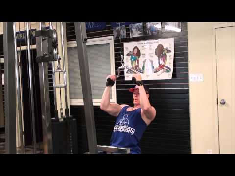 Neutral Close Grip Cable Lat Pulldown