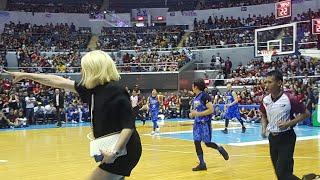 VICE GANDA nakakatawang reaksyon pag nakakashoot sa basketball ang Team Daniel NAKUNAN!