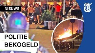 Chaos in Haagse Schilderswijk door relschoppers