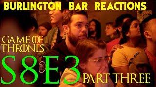 "Game Of Thrones // Burlington Bar Reactions // S8E3 ""The Long Night"" Part 3!!"