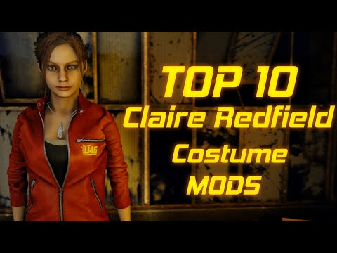Top 10 Costume mods for Claire Redfield Resident Evil 2 Remake