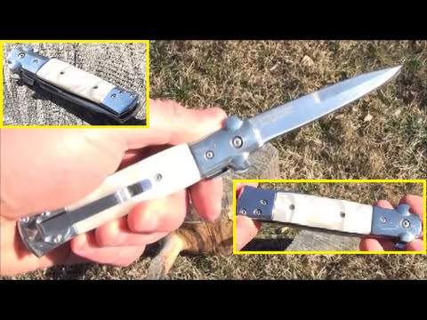 X-Bay Stiletto Knife, Cheap Yet Nice Fake Switchblade