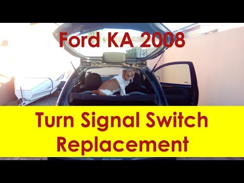 Ford KA turn signal switch replacement