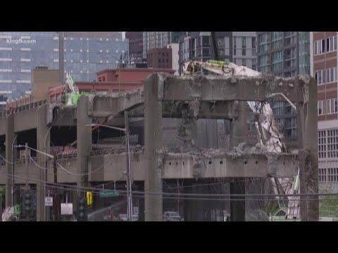 Delays on Alaskan Way Viaduct demolition
