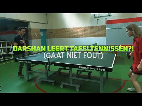 DARSHAN LEERT TAFELTENNISSEN?! (GAAT NIET FOUT)