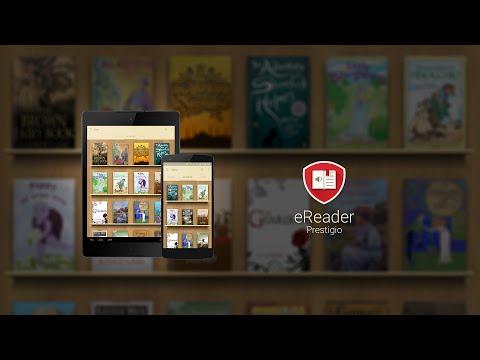 Video of eReader Prestigio: Book Reader