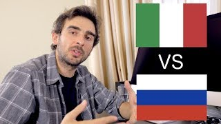 Vivere in Russia (a Mosca) vs Vivere in Italia [SUB ENG]