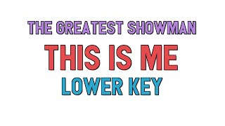 this is me the greatest showman lyrics karaoke - TH-Clip