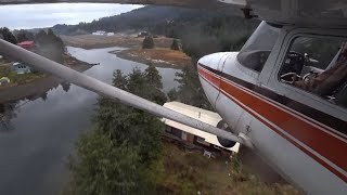 How to Fly: ACTUAL Soft Field Landing in Alaska  + Trees
