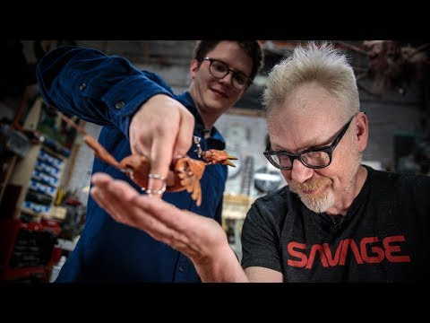 Adam Savage talks with Puppeteer Barnaby Dixon