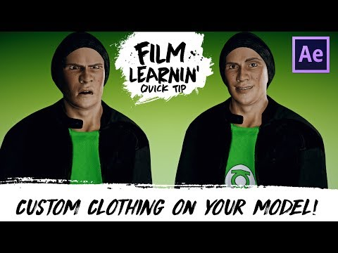 Custom Clothing on Your Adobe Fuse 3D Model! | Film Learnin