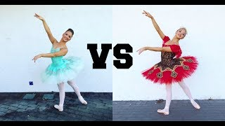 ATTEMPTING THE HARDEST BALLET STEPS CHALLENGE!
