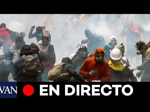 En directo. El Gobierno decretó el toque de queda en Ecuador
