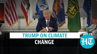 I donot think science knows: Donald Trump downplays climate change threat  IMAGES, GIF, ANIMATED GIF, WALLPAPER, STICKER FOR WHATSAPP & FACEBOOK