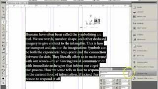InDesign CS5, Magazine Layout, Part1, Setup And Basic Styles.mp4
